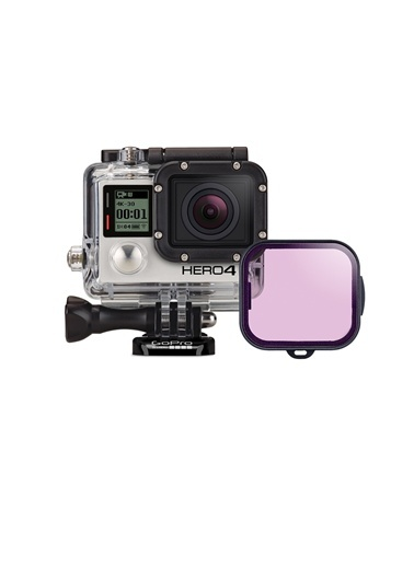 Dalış Filtresi Magenta (60M Dalış Kamera Kutusu İçin)-GoPro